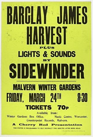 Barclay James Harvest, Isengard, 24 March 1972