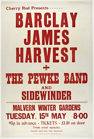 Barclay James Harvest, The Pewke Band, 15 May 1973