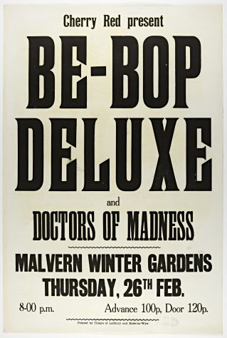 Be Bop Deluxe, The Doctors of Madness, 26 February 1976