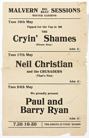 The Cryin' Shames, 10 May 1966