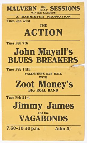 Jimmy James and the Vagabonds, 21 February 1967