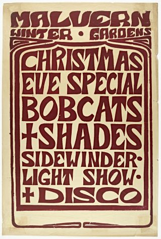 The Bobcats, The Shades, Sidewinder Disco & Light Show, 24 December 1969