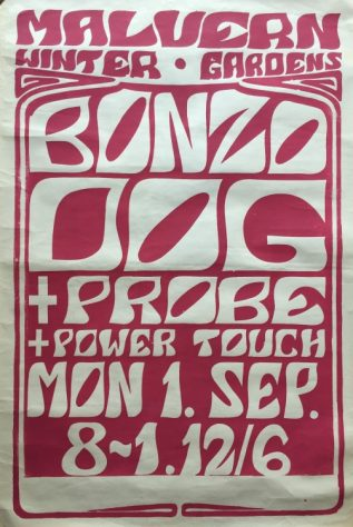 The Bonzo Dog Doo Dah Band, The Probe, The Power Touch Disco Show, 01 September 1969