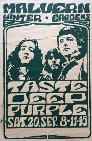 Deep Purple, Taste, 20 September 1969