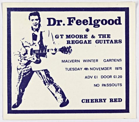 Dr Feelgood, GT Moore and The Reggae Guitars, 04 November 1975