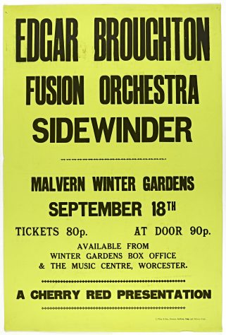 The Edgar Broughton Band, Fusion Orchestra, 18 September 1971
