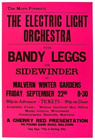 Electric Light Orchestra, Bandy Leggs, 22 September 1972