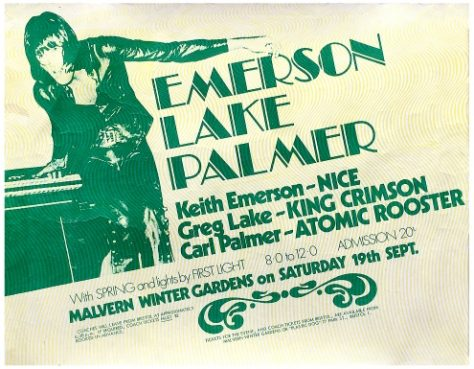 Emerson Lake and Palmer, Spring, 19 September 1970