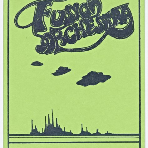 Ticket for Fusion Orchestra at Malvern Winter Gardens, 07 September 1974 | Cherry Red Promotions