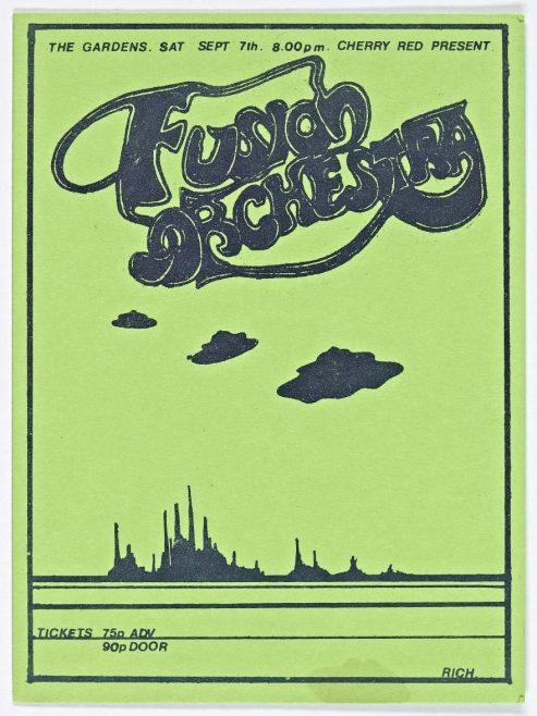 Ticket for Fusion Orchestra at Malvern Winter Gardens, 07 September 1974