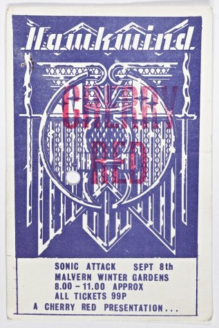Hawkwind, Ace, Andy Dunkley, Liquid Len & Cosmic Frenz, 08 September 1973