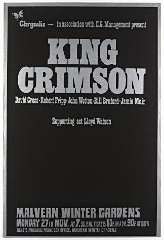 King Crimson, Lloyd Watson, 27 November 1972