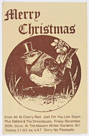 Ticket for Leo Sayer at Malvern Winter Gardens, 20 December 1974