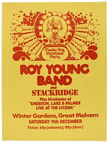 The Roy Young Band, Stackridge, 11 December 1971