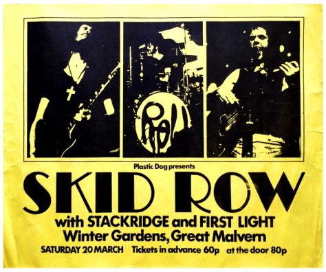 Skid Row, Stackridge, 20 March 1971