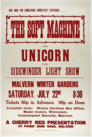 The Soft Machine, Unicorn, 22 July 1972