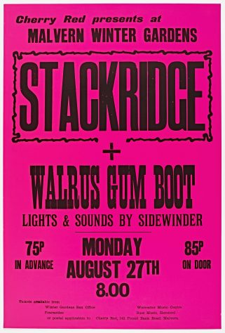 Stackridge, Walrus Gumboot, 27 August 1973