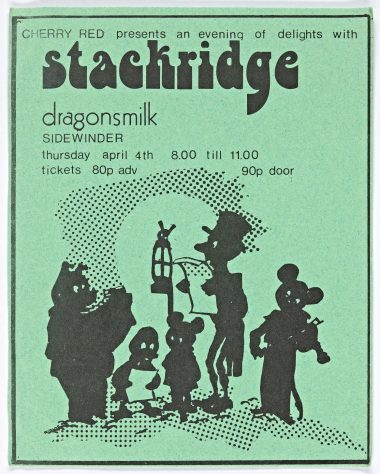 Stackridge, Dragonsmilk, 04 April 1974