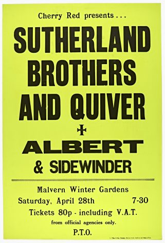 Sutherland Brothers and Quiver, Albert, 28 April 1973