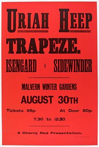 Uriah Heep, Trapeze, Isengard, 30 August 1971