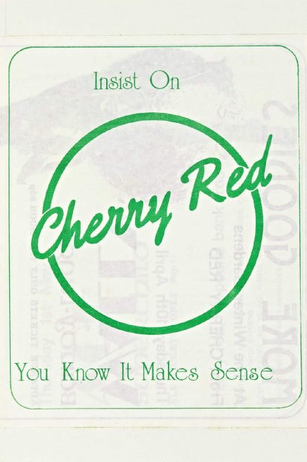 Cherry Red 'fanzine', including advert for Wally and Ace at Malvern Winter Gardens, April and May 1975