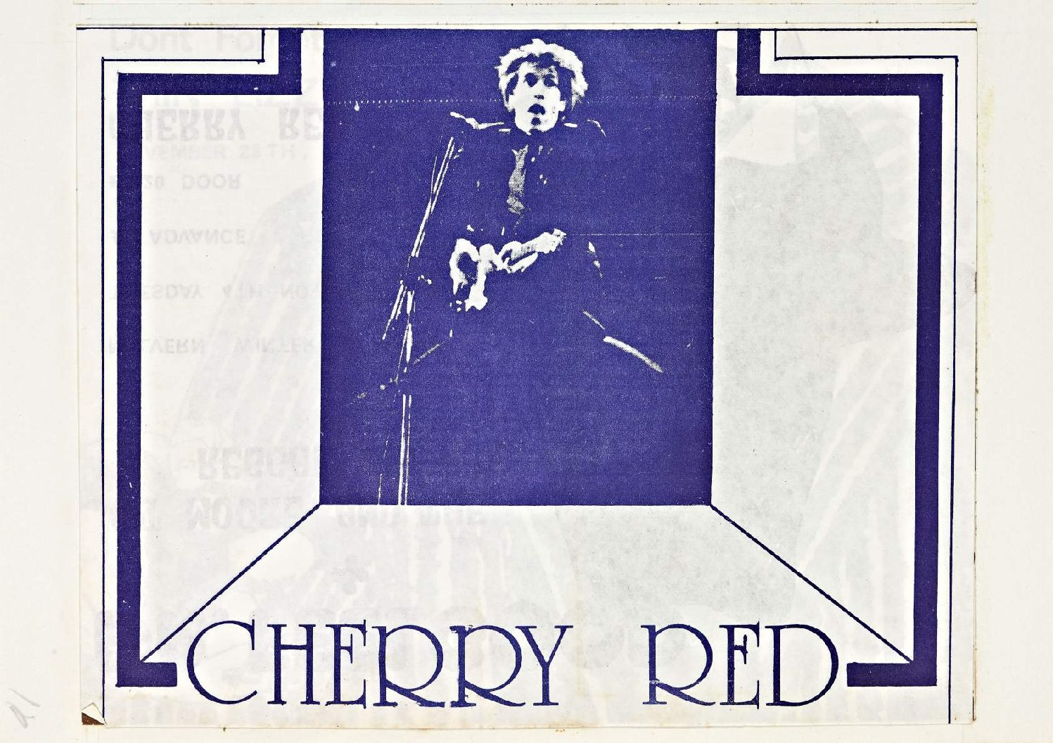 Cherry Red 'fanzine', including advert for Dr Feelgood at Malvern Winter Gardens, 4 November 1975