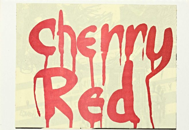 Cherry Red 'fanzine', including advert for Van der Graaf Generator at Malvern Winter Gardens, 9 October 1975