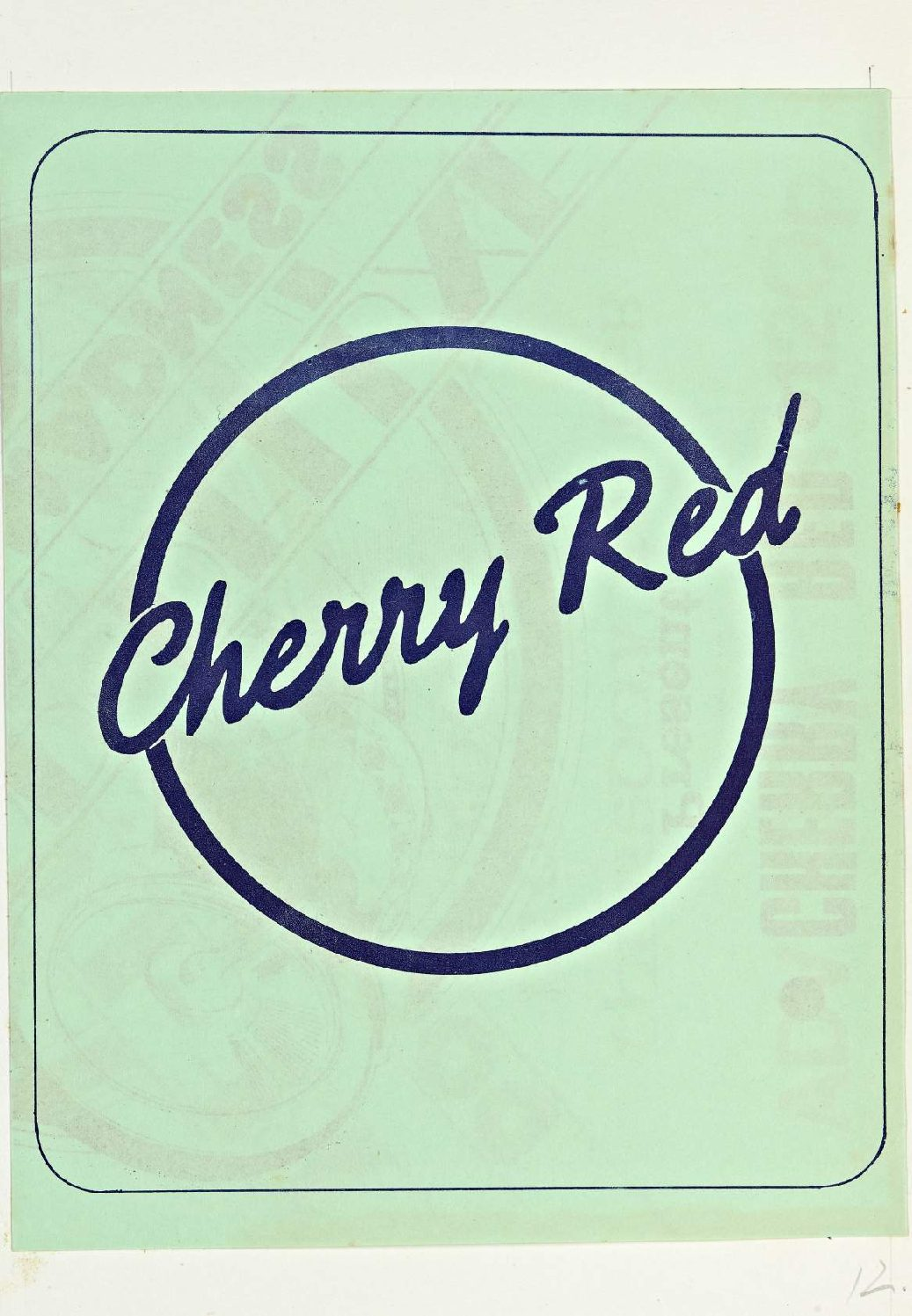 Cherry Red 'fanzine', including advert for Be Bop Deluxe at Malvern Winter Gardens, 26 February 1976