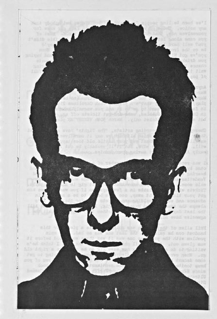 Cherry Red 'fanzine', including listings for Elvis Costello, The Adverts, The Motors, and Steve Hillage at Malvern Winter Gardens, March to May 1978