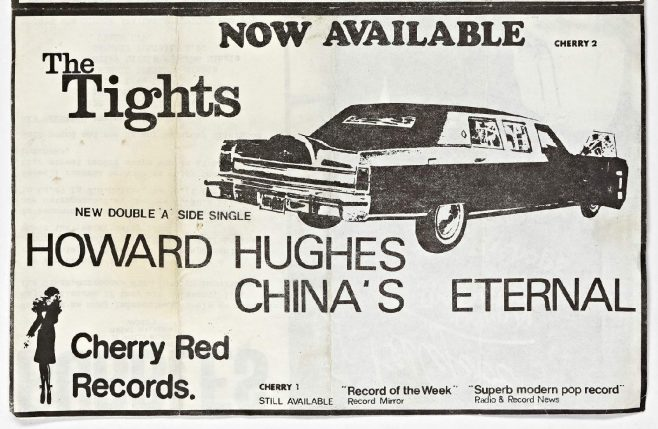 Cherry Red 'fanzine', including listings for various gigs at Malvern Winter Gardens, September to December 1978