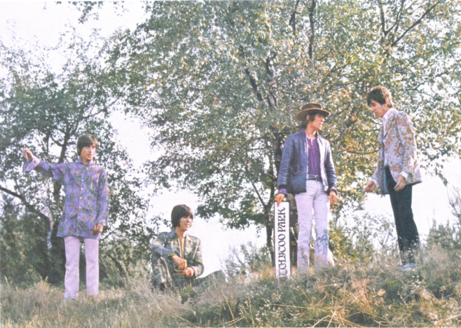 Photograph of The Small Faces, 1967