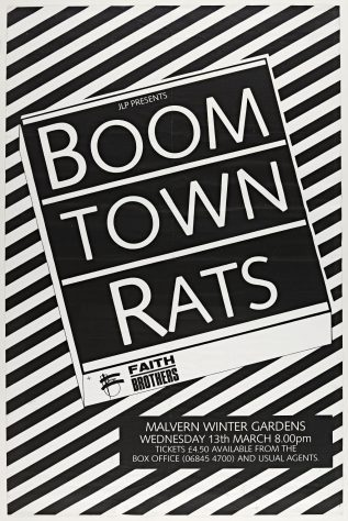 Boomtown Rats, Faith Brothers, 13 March 1985