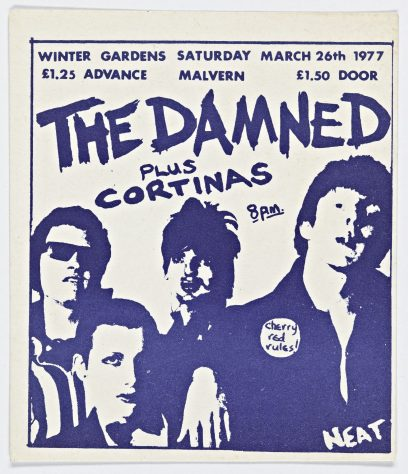 The Damned, The Cortinas, The Models, 26 March 1977