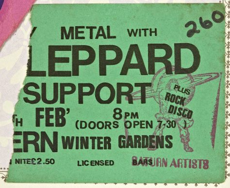 Def Leppard, Witchfynde, Magnum, 15 February 1980