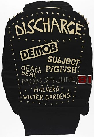 Discharge, Demob, Deathbeat, Subject Pigfish, 29 June 1981