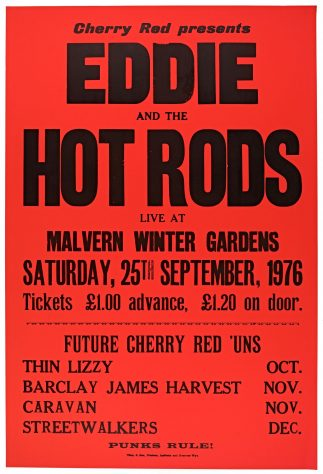 Eddie and The Hot Rods, 25 September 1976