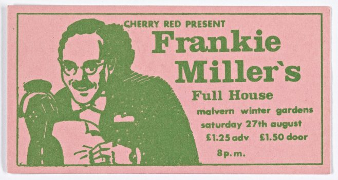 Ticket for Frankie Miller's Full House at Malvern Winter Gardens | Cherry Red Promotions