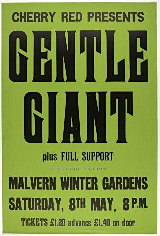 Gentle Giant, 08 May 1976