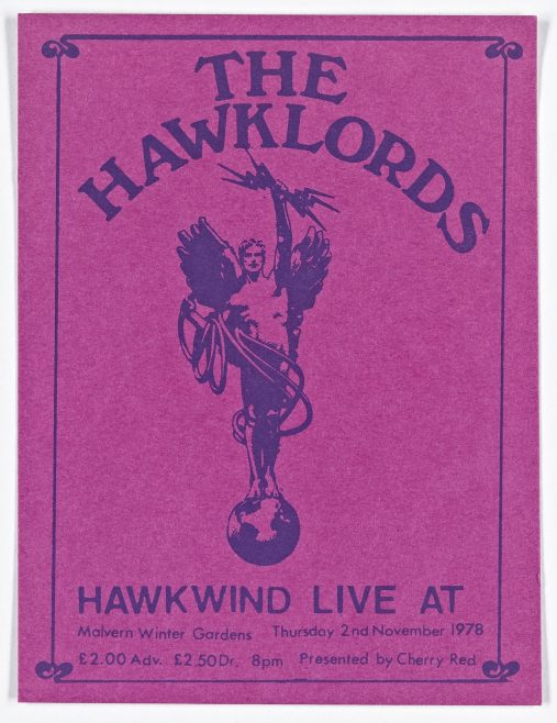 Ticket for The Hawklords at Malvern Winter Gardens | Cherry Red Promotions