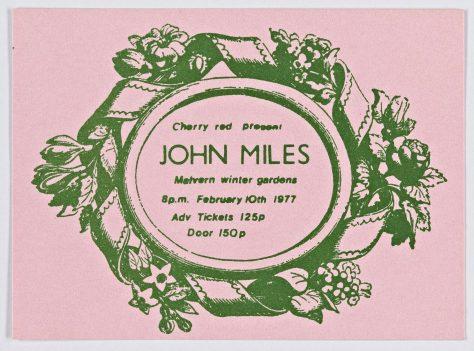 John Miles, 10 February 1977