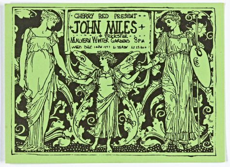 John Miles, Trickster, 14 December 1977