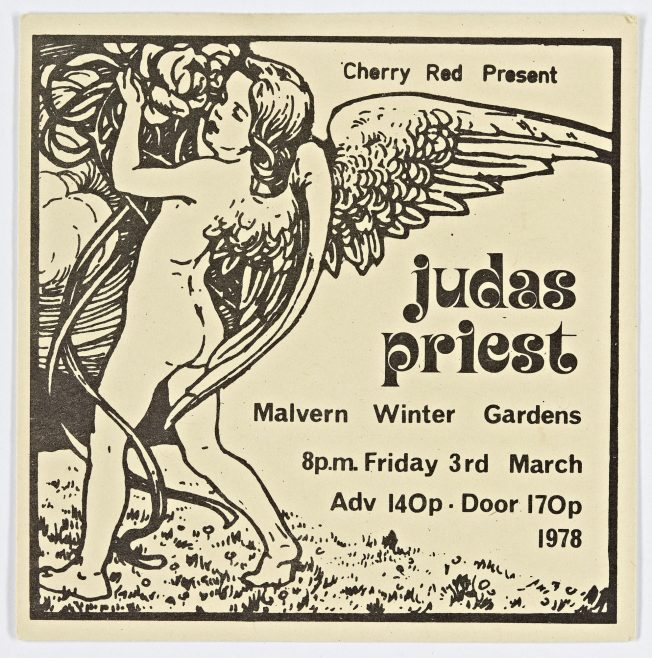 Ticket for Judas Priest at Malvern Winter Gardens | Cherry Red Promotions