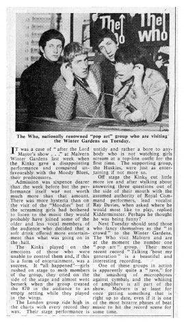 The Kinks, The Huskies, 02 November 1965