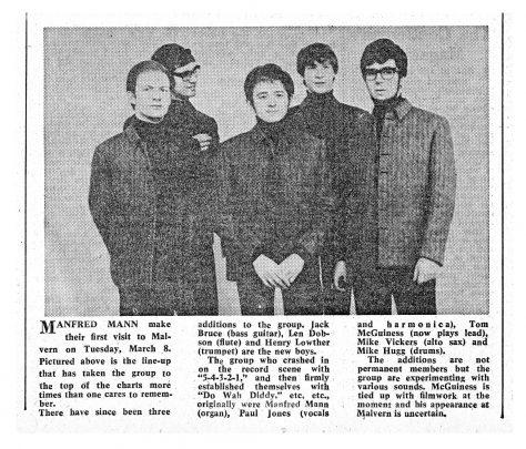 Manfred Mann, 08 March 1966