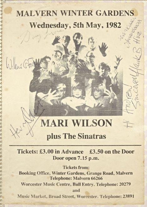 Ticket for Mari Wilson at Malvern Winter Gardens | unknown