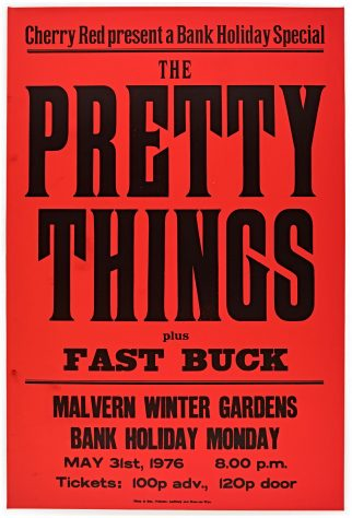 The Pretty Things, Fast Buck, 31 May 1976