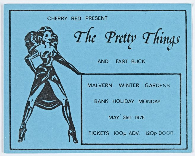 Ticket for The Pretty Things at Malvern Winter Gardens | Cherry Red Promotions