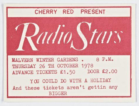 Radio Stars, 26 October 1978