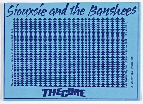 Ticket for Siouxsie and The Banshees at Malvern Winter Gardens, 22 September 1979