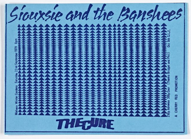 Ticket for Siouxsie and The Banshees at Malvern Winter Gardens | Cherry Red Promotions